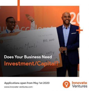 Innovate Ventures 2020 Innovate Accelerator Program for early-stage Somali Startups