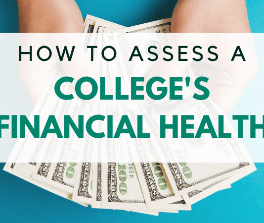 How to Assess a College's Financial Health