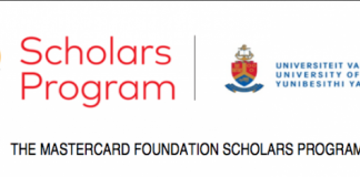 University of Pretoria MasterCard Foundation Scholars Program (MCFSP) 2020/2021 for study in South Africa (Fully Funded)