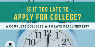 Is It Too Late to Apply for College? A Complete Colleges with Late Deadlines List