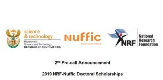 NRF-Nuffic Doctoral Scholarships 2021 for young South Africans