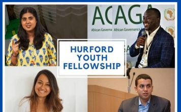 National Endowment for Democracy (NED) Hurford Youth Fellows Program 2020/2021 for Youth Leaders (Fully Funded to Washington D.C. USA)