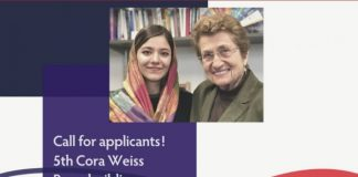 Cora Weiss Fellowship 2020 for Young women Peacebuilders – (Fully Funded to New York, USA)