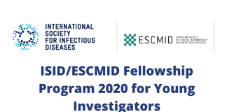 ISID/ESCMID Fellowship Program 2020 for Young Investigators from Low and Low-middle Income Countries (up to US$7,500)