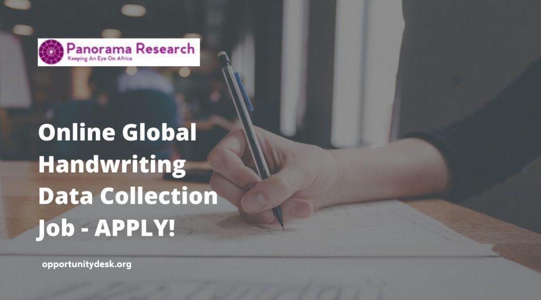 Call for Data Contributors – Global Handwriting Data Collection Project (Paid)