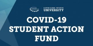 Clinton Global Initiative University (CGI U) COVID-19 Student Action Fund 2020 for University Students Worldwide ($USD100,000 in Funding)