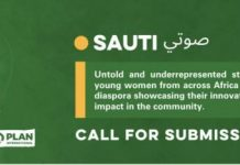 "Call for Submissions: African Union Office of the Youth Envoy Sauti صوتي"" Publication of 25 young women contributions"