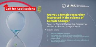 AIMS NEI Fellowship Program 2020/2021 for Women in Climate Change Science (Fully Funded)