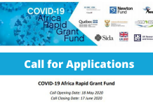 National Research Foundation COVID-19 Africa Rapid Grant Fund 2020
