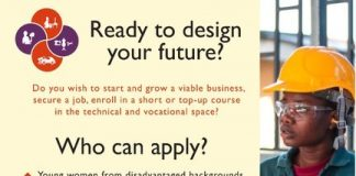 MasterCard/CAMFED Young Africa Works Program 2020–Technical and Vocational Education and Training (TVET)