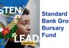 Standard Bank Group Bursary Fund 2020 for undergraduate & graduate studies in South Africa