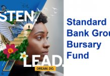 Standard Bank Group Bursary Fund 2020 for undergraduate & graduate studies in South Africa