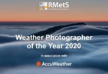The Royal Meteorological Society (RMetS) Young/Weather Photographer of the Year 2020