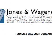 Jones & Wagener Undergraduate Bursary Scheme 2021 for young South Africans to Study Engineering in South Africa