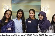 "New York Academy of Sciences ""1000 Girls, 1000 Futures"" Program 2020 for Young Women in STEM"