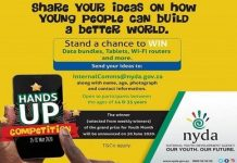 National Youth Development Agency (NYDA) Hands Up Competition 2020 for young South Africans