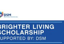 DSM: Brighter Living Scholarship 2020 for young Entrepreneurs (Fully Funded to attend the One Young World Summit in Munich, Germany)
