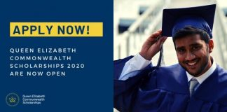 Queen Elizabeth Commonwealth Scholarships 2021 for students in Commonwealth Nations (Fully Funded)