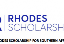 Rhodes Southern Africa Scholarships Programme 2021 for Postgraduate study at the University of Oxford, United Kingdom (Fully Funded)