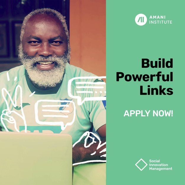 Amani Institute Social Innovation Management Program 2020- Special Online Edition! (Scholarships Available)