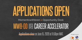 MWB-OD Career Accelerator 2020 – applications now open!