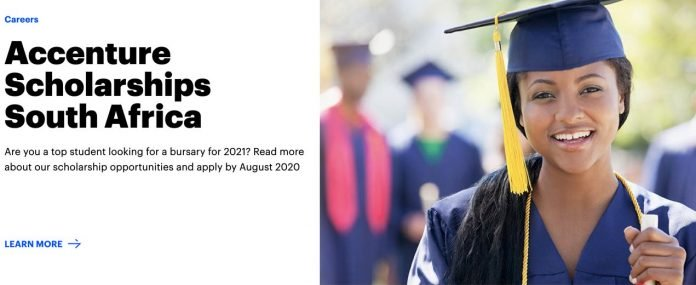 Accenture Education Trust Scholarships 2021 for Undergraduate Study in South Africa (Fully Funded)
