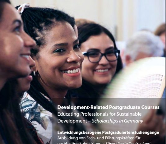 German Academic Exchange Service (DAAD) Development-Related Postgraduate Scholarships 2021/2022 for study in Germany (Fully Funded)