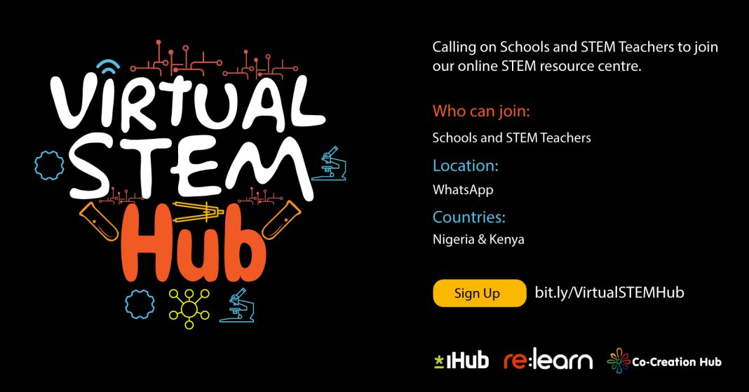 re:learn Virtual STEM Hub 2020 for Schools and STEM Teachers in Nigeria and Kenya