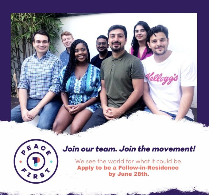 Peace First Fellows-in-Residence Programme 2020 for emerging social change leaders in Sub-Saharan Africa/Middle East & North Africa (Fully Funded)