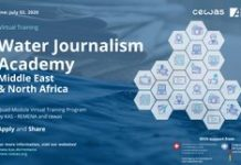 KAS–REMENA Water Journalism Academy 2020 for Media Professionals from the MENA region