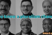 Global Pluralism Award 2021 for Pluralism Champions ($150,000 prize)