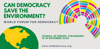 Call for Initiatives: Council of Europe World Forum for Democracy 2020 (Funded to Strasbourg, France)