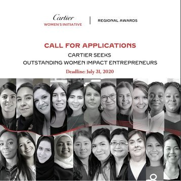 Cartier Women's Initiative Awards 2021 for Innovative Women Entrepreneurs Worldwide (US$ 100 000 prize & Scholarship to attend INSEAD Social Entrepreneurship Executive Education Programme )