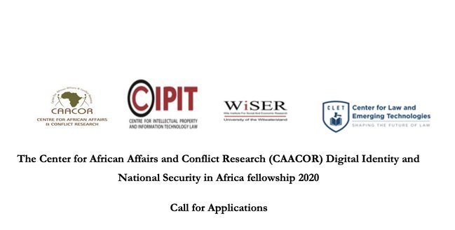 The Center for African Affairs and Conflict Research (CAACOR) Digital Identity and National Security in Africa Fellowship 2020
