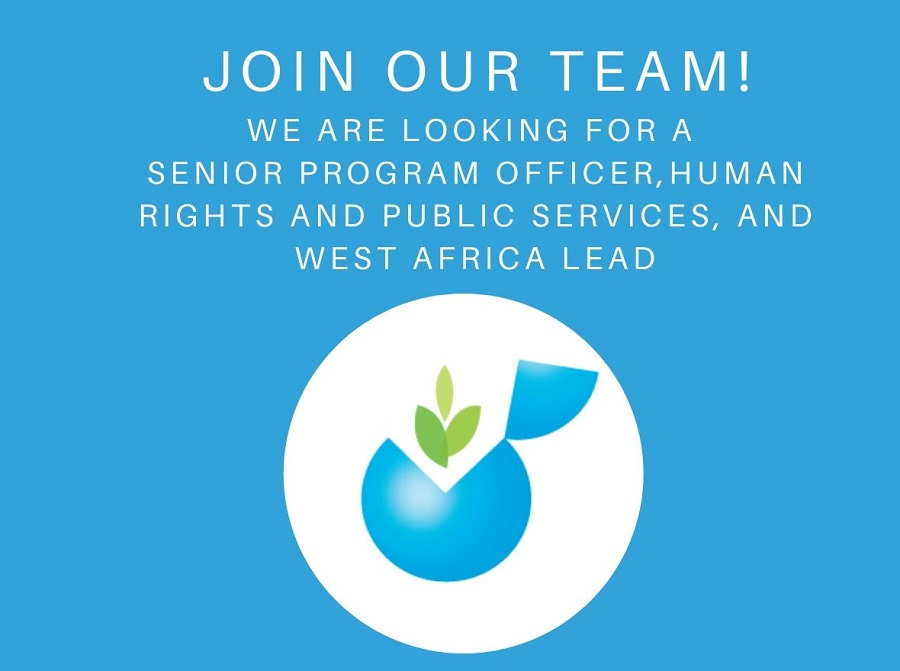 Global Initiative for Economic, Social and Cultural Rights (GI-ESCR) is seeking a Senior Program Officer