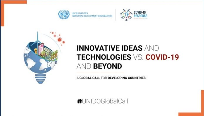 "UNIDO Global Call for ""Innovative Ideas and Technologies vs. COVID-19 and Beyond"""