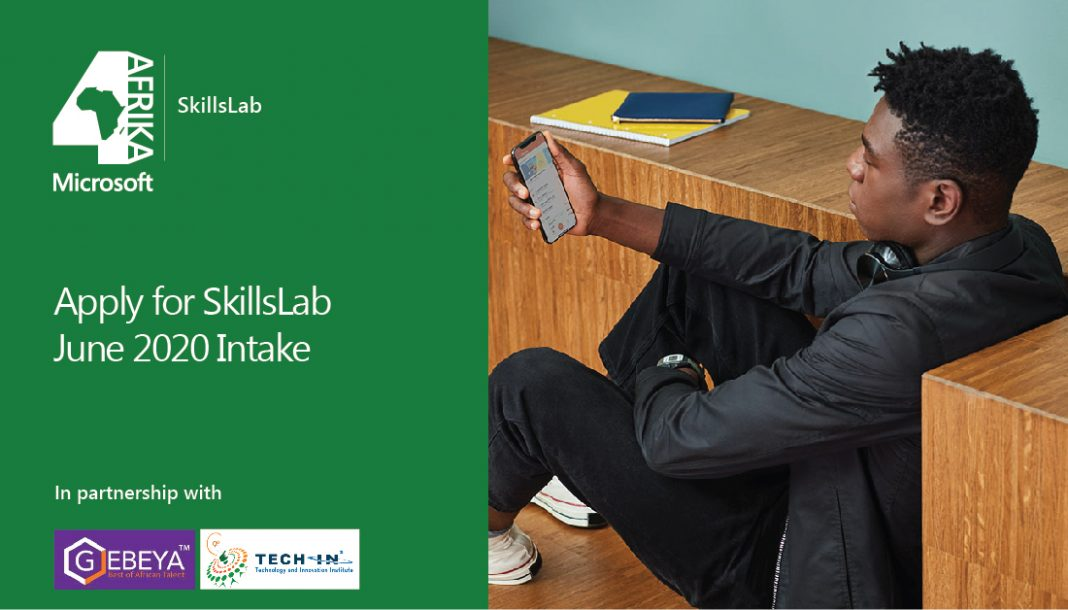 Microsoft 4Afrika SkillsLab Program 2020 for Students and Graduates in Ethiopia