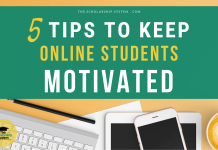 5 Tips to Keep Online Students Motivated