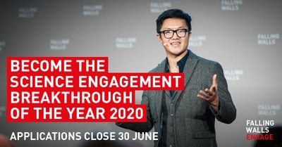 Falling Walls 2020 Science Engagement Breakthrough of the Year