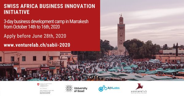 Swiss Africa Business Innovation Initiative Advanced Startup Training & Swiss Business Development Camp 2020 (Fully Fully to Marrakesh, Morocco)