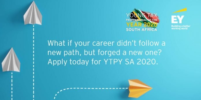 EY Young Tax Professional of the Year South Africa (YTPYSA) 2020 for young & aspiring Tax Professionals