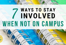 7 Ways to Stay Involved When Not on Campus