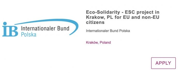 Call For Volunteers: Eco-Solidarity– ESC project in Poland for young People (Fully Funded)