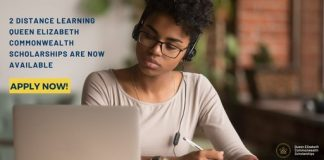 Queen Elizabeth (QECS) Distance Learning Scholarship Awards 2020 for Young Africans
