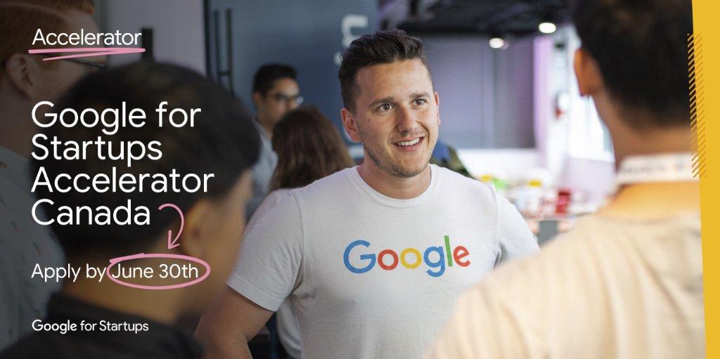 Google for Startups Accelerator Canada 2020