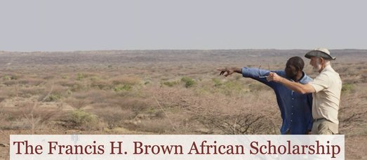 Francis H. Brown African Scholarship Fund 2020 for East African researchers ($25,000 Award)