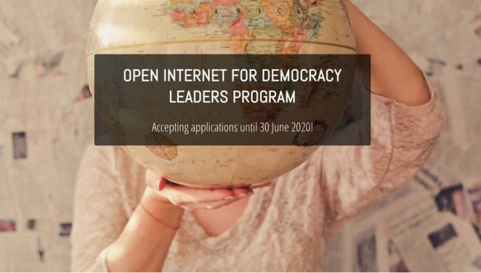 Open Internet for Democracy Leaders Program 2020/2021 ($1000 USD honorarium & Fully Funded)