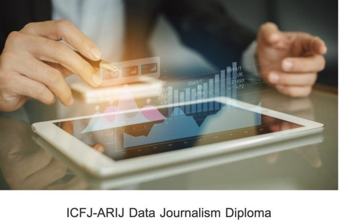 ICFJ-ARIJ Data Journalism Diploma Program 2020 for early & mid-career Data Journalists from MENA region