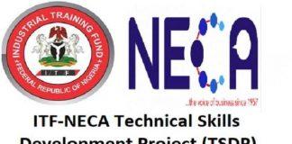 ITF-NECA Technical Skills Development Project (TSDPTraining Programme 2020