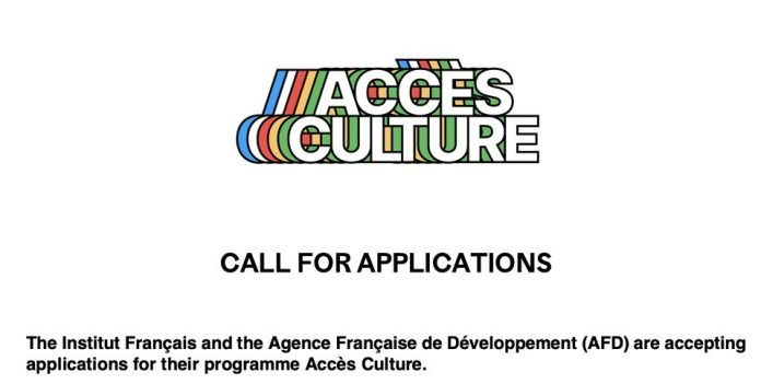 The Institut Français/AFD Accès Culture Programme 2020 Cultural project funding in Africa